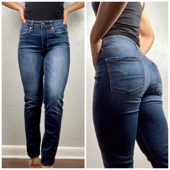 American Eagle Outfitters Denim - American Eagle Hi-Rise Skinny Jeans Sz 4 Long